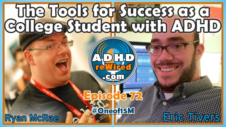 Tools For Success As A College Student with ADHD with Ryan McRae