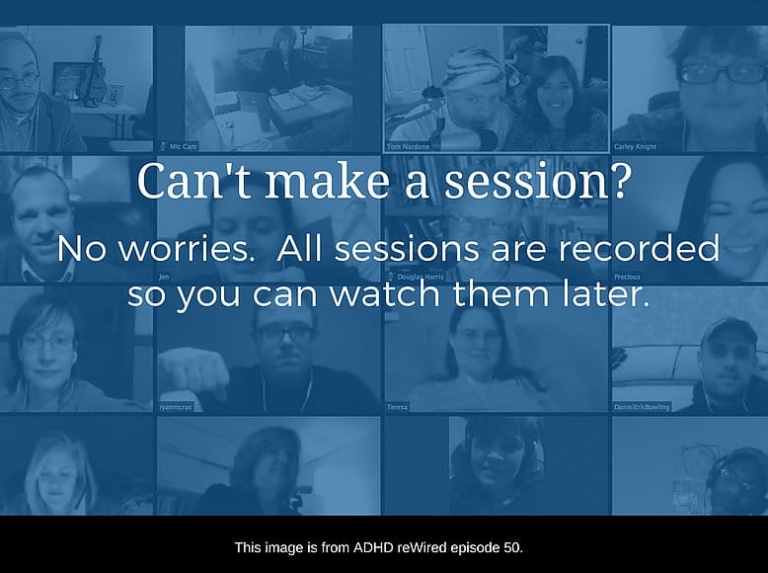 ADHD reWired Coaching - Session Recordings