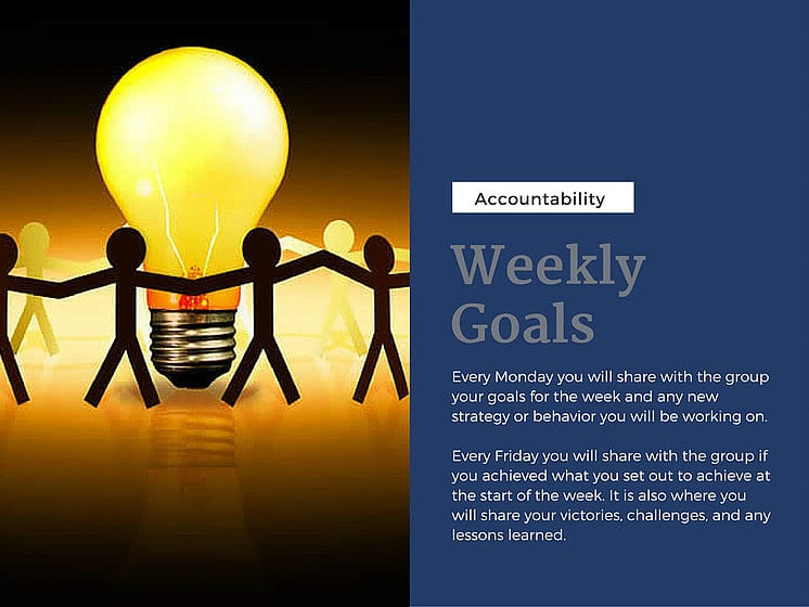 ADHD reWired Coaching: Weekly Goals